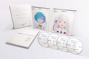 Re:ゼロから始める異世界生活(リゼロ) 新編集版ブルーレイBOX 5.27 発売!