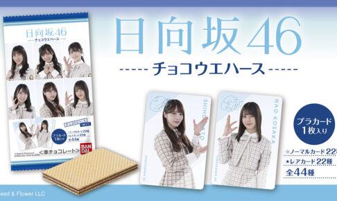 日向坂46 プラカード付き チョコウエハース 7月26日より発売!