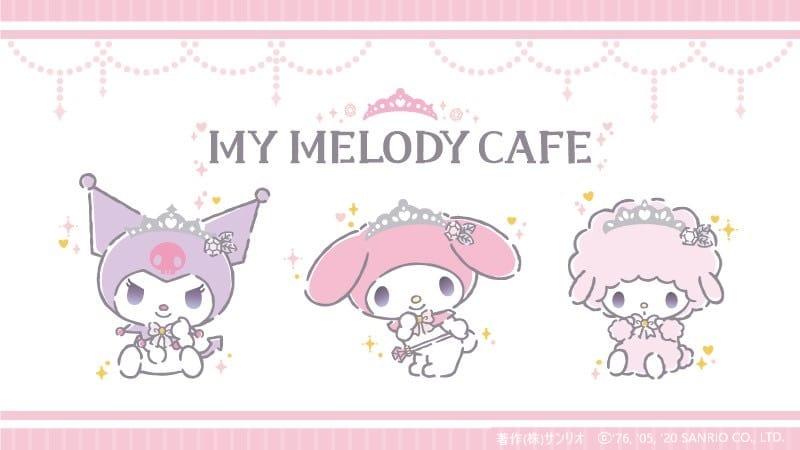 マイメロディカフェ in TERRACE CAFE原宿 8月1日よりコラボ開催!!