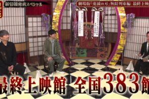 映画 鬼滅の刃 無限列車編 7月22日より全国383館にて最終上映決定!