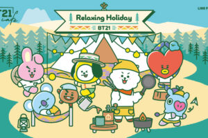BT21カフェ 第9弾2幕 in BOX CAFE 8月27日より開催!