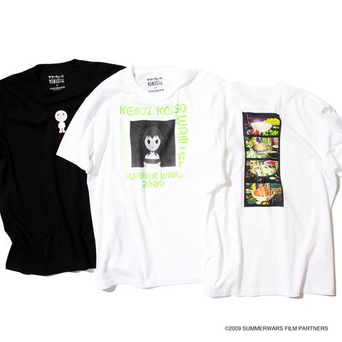 サマーウォーズ10周年記念 × BEAMS限定コラボTシャツ 8.1から発売!!