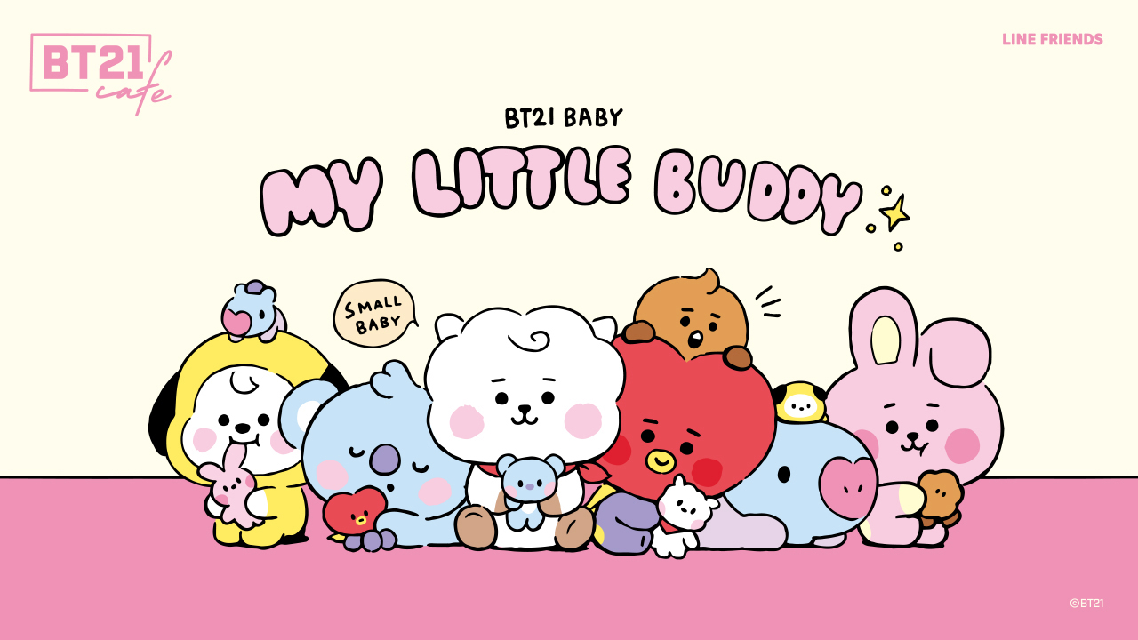 BT21カフェ 第9弾 in BOX CAFE 7月22日よりコラボ開催!