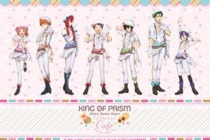 KING OF PRISMカフェ in Animax Cafe+原宿 11.7-12.6 コラボカフェ開催!