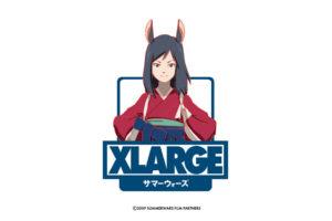 サマーウォーズ × XLARGE 2019.8.1よりコラボTシャツなど限定発売!!