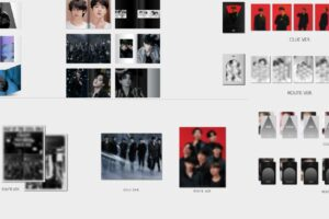 BTS MAP OF THE SOUL ON:E フォトブック 2形態 4.22より発売!