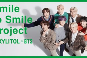 BTS × ロッテ キシリトール「Smile to Smile Project」を7月より実施!