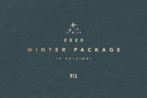 BTS (防弾少年団) 12.27より 2020 BTS WINTER PACKAGE 予約受付開始!
