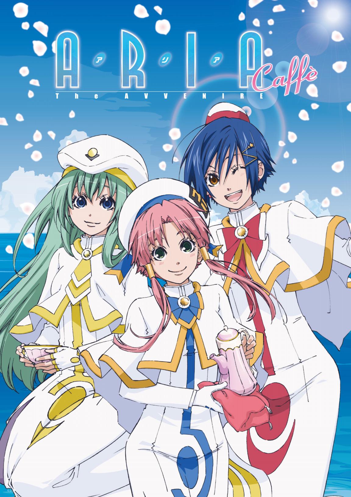 アニメ「ARIA」x 2.5SPINNS原宿にて『ARIAカフェ』1/20から開催!